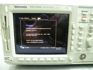 Tektronix Tds684c 1ghz 5gs s Color Oscilloscope Read Description
