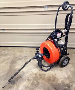 General Speedrooter 92 Power Drain Sewer Rodder 100