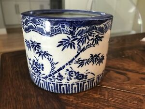 Antique Chinese Japanese Brush Wash Pot Caligraphy Watercolor