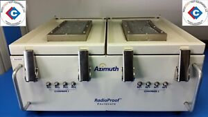 Azimuth Rpe 402 Rf Shielded Test Enclosure W Frequency 1 To 6 Ghz used