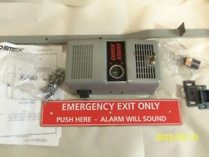 Detex Ecl 600 Fire Rated Panic Exit Device