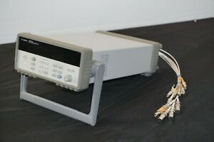 Hp Agilent Keysight 34970a Data Acquisition switch Unit With 34906a Module