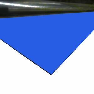 Chevron Blue Painted Aluminum Sheet 0 040 X 24 X 48