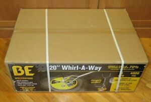 Be Whirl a way 20 Rotary 4000psi Pressure Washer Attachment Surface Cleaner