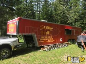 7 5 X 46 Bbq Concession Trailer For Sale In Washington