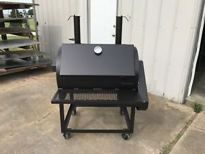 Rotisserie Smoker 24 X 36 Backyard Leg Model