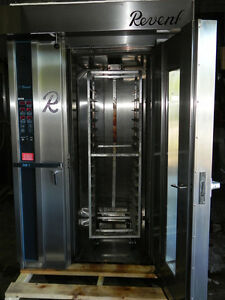 Rack Oven Gas Revent Revolving Rotating Model 626 Coming With Rack W new Casters
