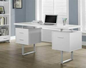 Metal Office Desk In White id 3182212