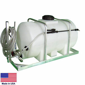 Sprayer Commercial Skid Mounted 12 Volt Dc 35 Gallon Tank 1 6 Gpm