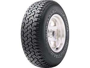 2 New P235 75r15 Goodyear Wrangler Radial Tires 235 75 15 2357515