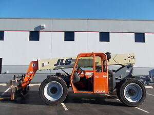 Jlg G9 43a Telehandler Telescopic Forklift 9000lb Lift 43ft Reach G10 55