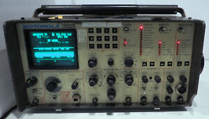 Motorola R 2001c Communications System Analyzer Service Monitor Turns On As Is