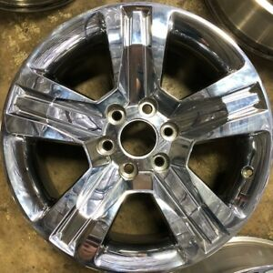 20 Inch 2016 2017 2018 Chevy Silverado 1500 Oem Chrome 20x9 Wheel Rim 5755 A