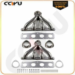 Fit Chrysler Imperial New Yorker Dodge Stainless Steel Header Exhaust Manifold