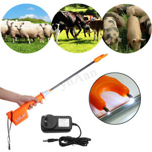 55cm Rechargeable Electric Livestock Cattle Pig Prod Animal Stock Prodder Safety