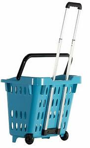 Dbest Products Go cart Shopping Basket Teal
