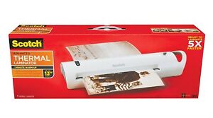 New Scotch Tl1302vp Advanced Thermal Laminator Extra Wide 13 inch 5x Faster