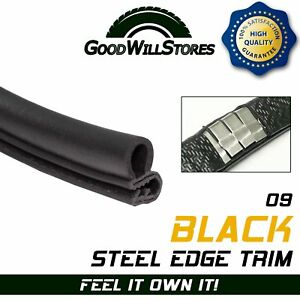 18ft Rubber Seal Strip Trim Lock Door Hood Trunk Anti Rub Weather Strip Protect