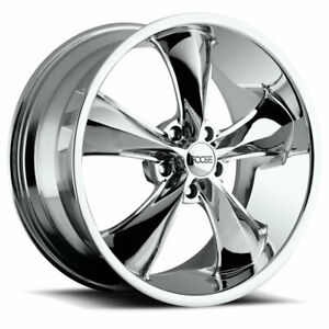 Foose Legend F105 17x8 1 Chrome Wheel 5x120 7 5x4 75 Qty 4