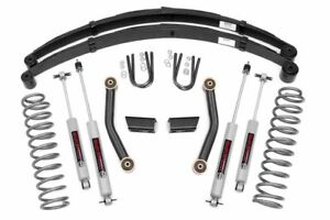 Rough Country 3 Lift Kit fit 1984 2001 Jeep Cherokee Xj Series Ii Suspension