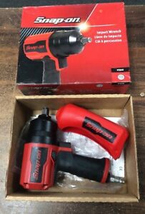 Snap on Pt850 1 2 Drive Air Impact Wrench Pnuematic Gun W Boot Like New