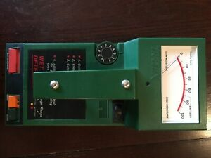 Tramex Wet Wall Detector Good Condition Includes Leather Bag Instructions