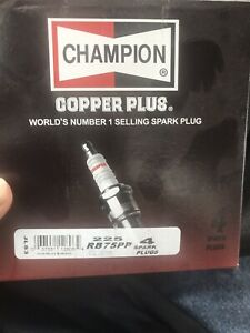 Champion 225 Rb75pp Industrial Spark Plug Pack Of 4 New