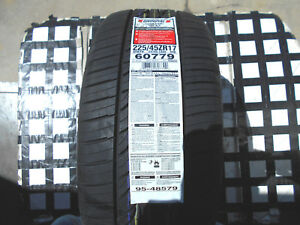 2 New Tires 225 45 17 Uniroyal Tiger Paw Gtz A S All Season M S 225 45zr17 94wxl