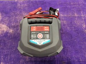 Schumacher Sc1280 15 Amp Rapid Charger For Automotive And Marine Batteries Used