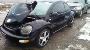 Rear View Mirror With Digital Clock Fits 02 05 Beetle 5881422