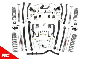 Rough Country 4 Lift Kit Fits 2007 2011 Jeep Wrangler Jk Unlimited 4 Dr 78530