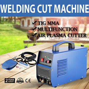 3 In1 Tig air Plasma Cutter Welder Operational Feeiciency Great Wise Choice