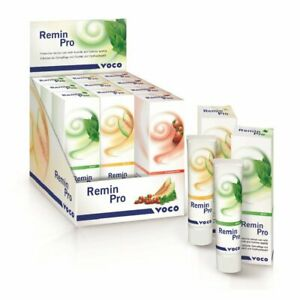 5 X Voco Remin Pro Tubes Protective Dental Cream 40gm all Flavors Available