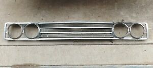 Complete 1969 Ford Torino Ranchero Fairlane Grille Headlight Bezels And Center