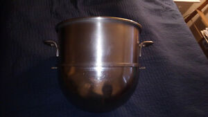 Hobart Vml Hp 40 Stainless Steel Mixer Bowl 40 Quart Qt Used