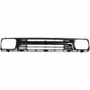 For 1992 1993 1994 1995 Toyota Pickup 2wd Grille Painted Standard 1piece Grille