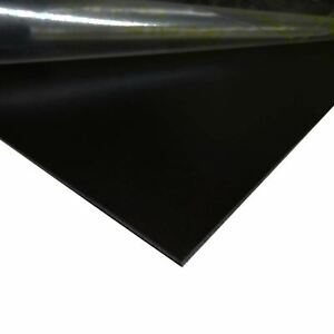 Black Painted Aluminum Sheet 0 040 X 24 X 36