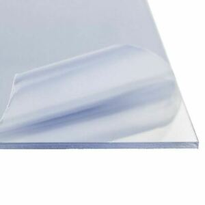 Clear Polycarbonate Lexan Sheet 0 118 1 8 Inch 24 Inches X 48 Inches