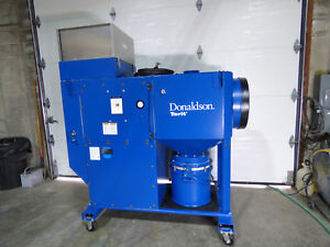 Donaldson Torit Dfo 1 1 Downflo Oval Dust Collector Portable Unused