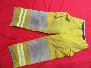 Lion Body Guard Firefighter Turnout Gear Bunker Gear Pants Thermal Liner 30 X 26