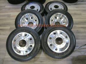 2005 2019 Ford Dually F450 F550 Dodge Ram Dually 4500 Polished Wheels And Tires
