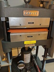 Carver Bench Top Heated Hydraulic Press 25 Ton With Options