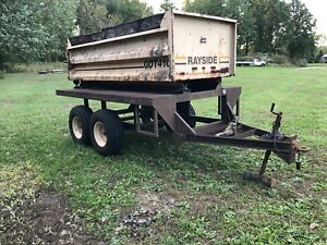 Dump Trailer Golf Course Or Agricultural
