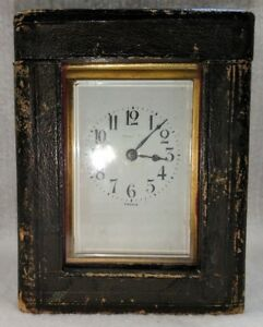 Tiffany Co Carriage Clock With Case
