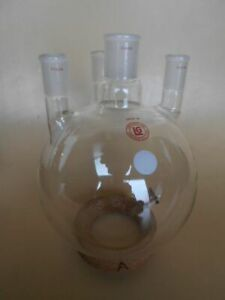 Used Your Choice Of One 5000 Ml Round Bottom Flask 4 Neck Plus Options