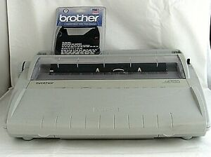 Brother Gx 6750 Correctronic Daisy Wheel Electronic Portable Typewriter Cover