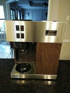 Bunn Vpr 12 Cup Commercial Coffee Maker 2 Burners