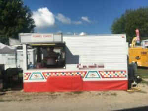 8 5 X 15 Food Concession Trailer For Sale In Ohio