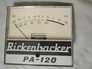 Vintage Phaostron Vu Meter For Rickenbacker Pa 120 New Old Stock
