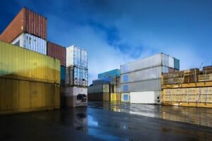 20ft Std One Trip Shipping Containers Houston Texas